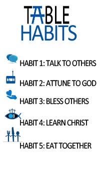 TABLE Habits Summary Chart