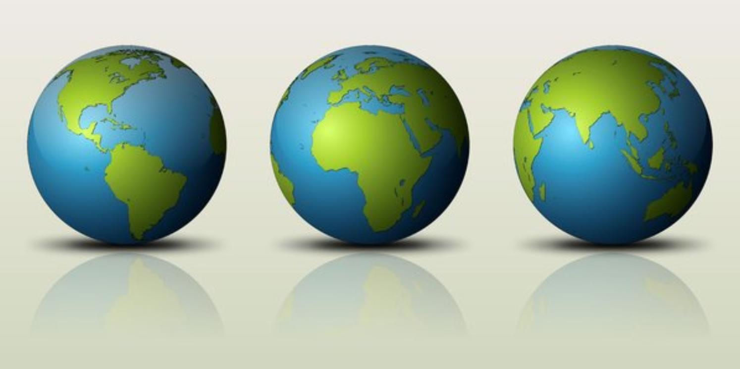 Justice - Three Globes